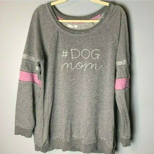 Maurices Top Size XL #Dog Mom Long Sleeves Casual